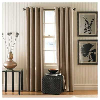 "Curtainworks Monterey Lined Curtain Panel - 144"" - Target"