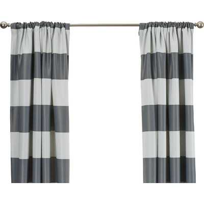 "Brookridge Curtain Panel - Gray - 84"" L x 52"" W - Wayfair"