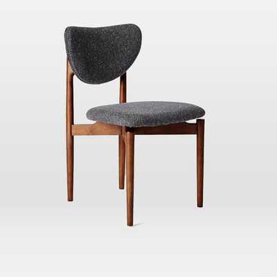 Dane Dining Chair - Set of 2 - Asphalt, Tweed - West Elm