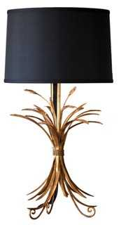 Stafford Table Lamp, Gold Wheat - One Kings Lane