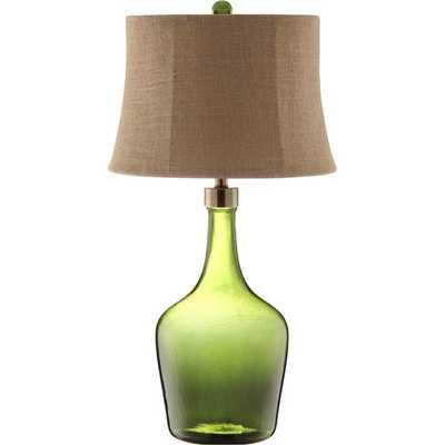 Trent Glass 1-light Table Lamp - Overstock