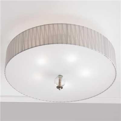 Metropolitan Antique Silver Ceiling Light - shadesoflight.com