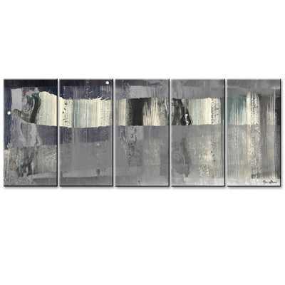 Ready2HangArt 'Inkd XLIII' 5-piece Canvas Art Set - Overstock