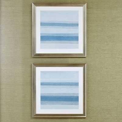 Abstract Framed Prints - Set of 2 - Birch Lane