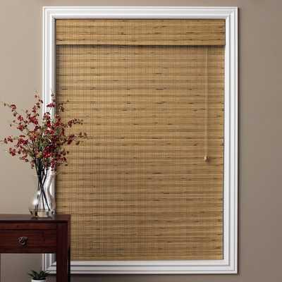 "Tuscan Bamboo 54-inch Long Roman Shade-31""x54"" - Overstock"