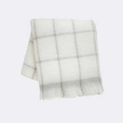 MOHAIR THROW - GREY - FermLiving