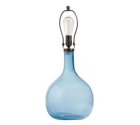 Eva Colored Glass Table Lamp - Pottery Barn