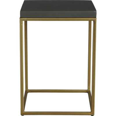 Zemi side table-stool - CB2