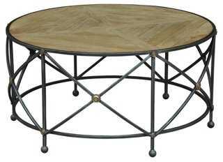 Stowe Round Coffee Table - One Kings Lane