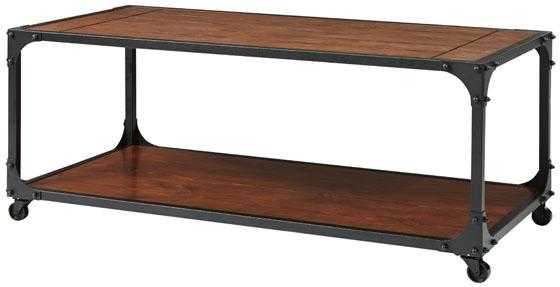 INDUSTRIAL EMPIRE COFFEE TABLE - Home Decorators