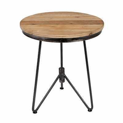Brickman Circle End Table - Wayfair