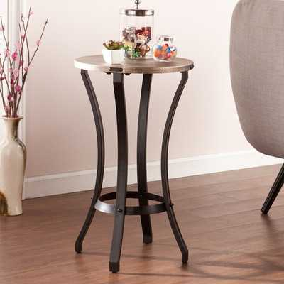 Upton Home Singleton Round Accent Table - Overstock