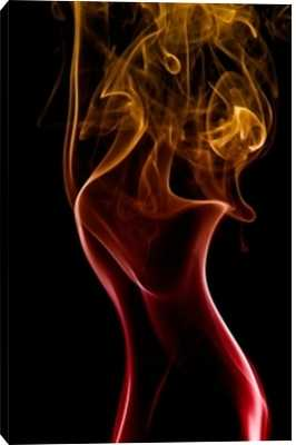 """Abstract Smoke - 32"""" x 48"""" - Unframed - Photos.com by Getty Images"""