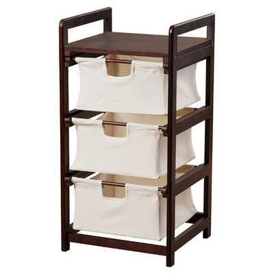 3 Drawer Hamper & Storage Unit - Wayfair