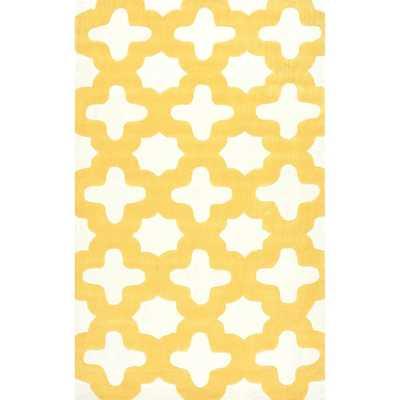 nuLOOM Handmade Marrakesh Trellis Rug (7'6 x 9'6) - Overstock