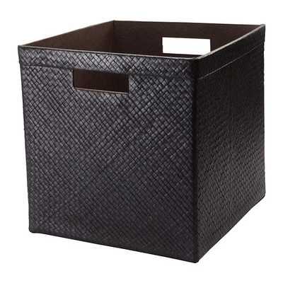 BLADIS Basket, black - Ikea