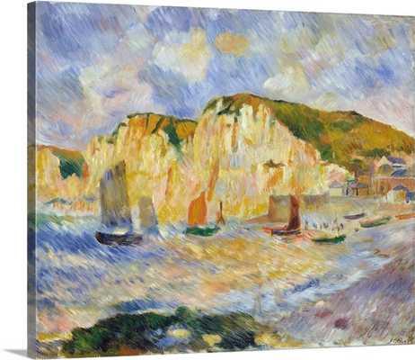 """Sea And Cliffs - 36"""" x 30"""" - Gallery Wrap - greatbigcanvas.com"""