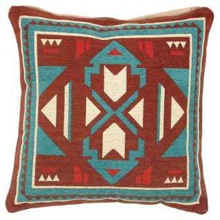 Bukagi Jacquard 18x18 Pillow - One Kings Lane