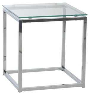 Bumble Modern Glass Side Table - One Kings Lane