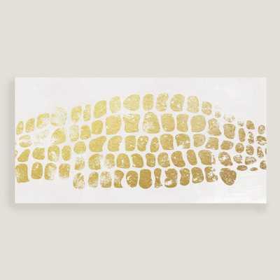 Alligator Gold I Wall Art - Not Framed - World Market/Cost Plus