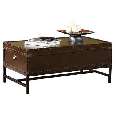 Southport Trunk Coffee Table with Lift Top - Wayfair