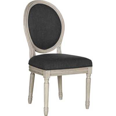 Nicolas Side Chair in Charcoal (Set of 2) - jossandmain.com