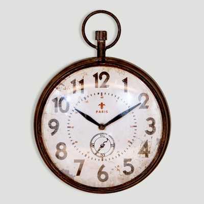 Chantal Round Iron Clock - World Market/Cost Plus