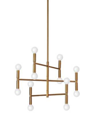 LINEAR MODERN MOBILE CHANDELIER - SMALL - Shades of Light