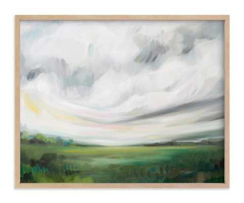 "Mornings Away - 20x16"" - walnut frame - Minted"