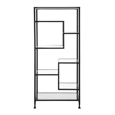 Charney Etagere Bookcase - Wayfair