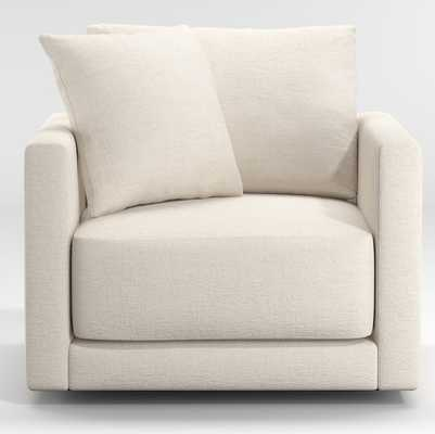Gather Petite Swivel Chair - Crate and Barrel