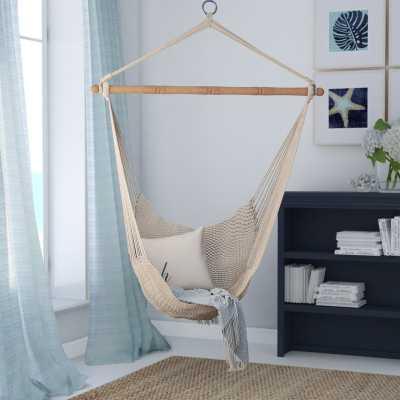 Crowell Rope Cotton Chair Hammock - Wayfair