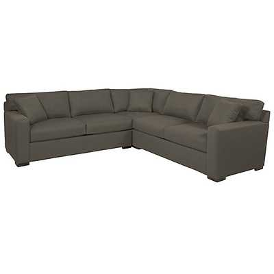 Phoenix Corner Sectional - 3 PC, bella otter - Z Gallerie