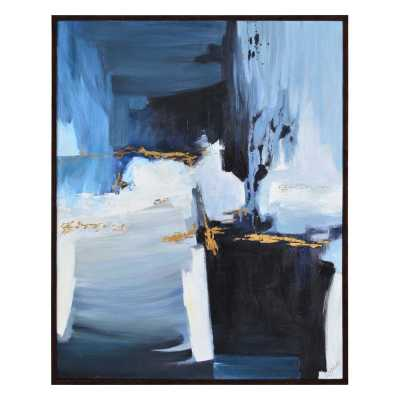'Empire' Framed Oil Painting Print on Canvas - Wayfair