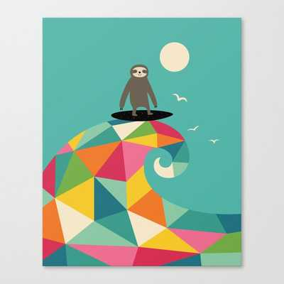 "Surfs Up Canvas Print // 18x22"" - Society6"