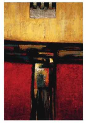 'On the Edge I' Painting Print on Canvas - Wayfair