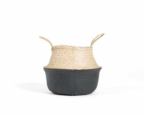 Greta Belly Basket - black - Rove Concepts