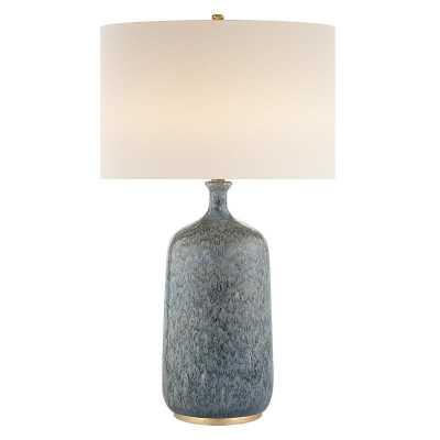 CULLODEN TABLE LAMP - BLUE LAGOON - McGee & Co.