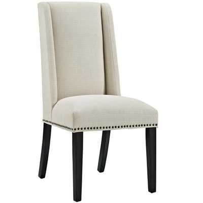 BARON FABRIC DINING CHAIR IN BEIGE - Modway Furniture