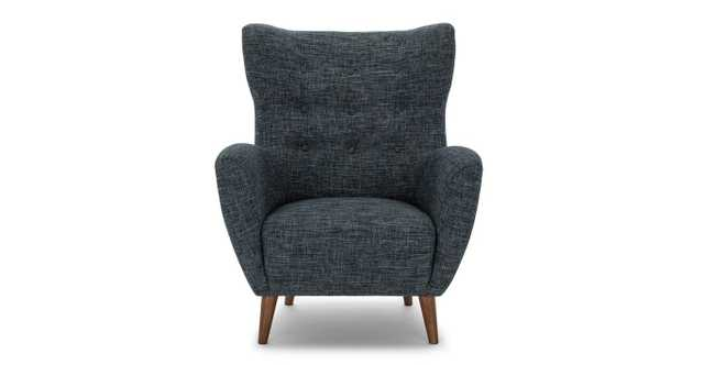 Mod Blue Berry Armchair - Article
