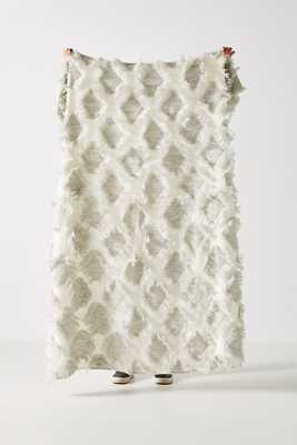 Textured Augusta Throw Blanket - Anthropologie
