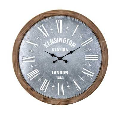 Grant Oversized Wall Clock - Mercer Collection