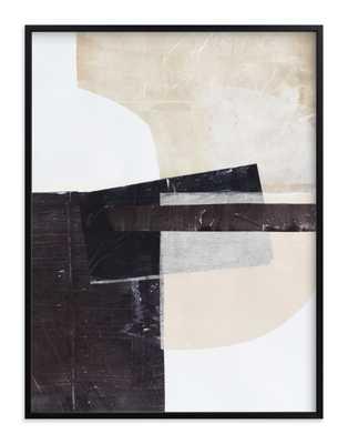 "Last Tuesday Art Print_ Size 30"" x 40"" _ Rich Black Wood Frame - Minted"