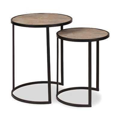 Maher 2 Piece Nesting Tables - Wayfair