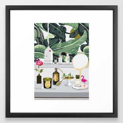 The Fragrance Cabinet Framed Art Print - Society6