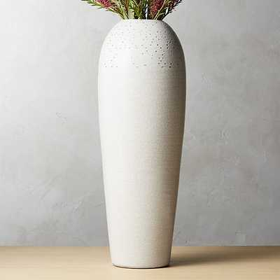 mable ivory vase - CB2