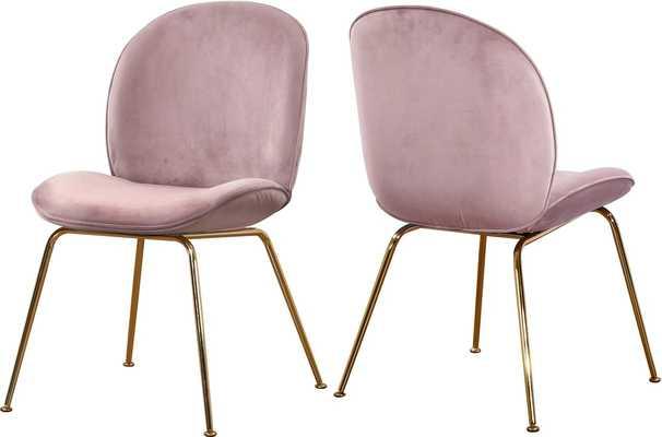 Bhreatnach Upholstered Dining Chair - Set of 2 - Wayfair