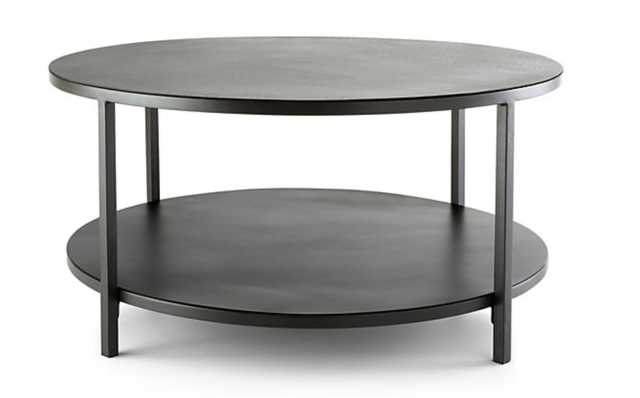 Echelon Round Coffee Table - Crate and Barrel