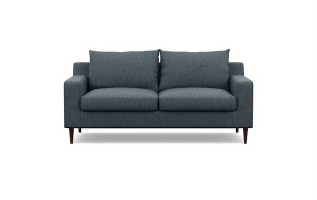 SLOAN Apartment Sofa, with Oiled Walnut Legs - Interior Define