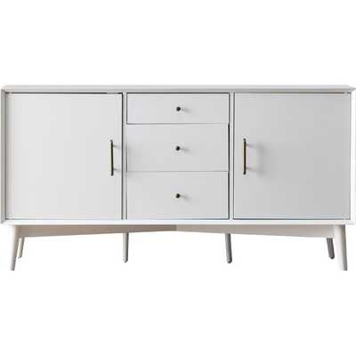 "Destiny 57"" Wide 3 Drawer Buffet Table - Wayfair"